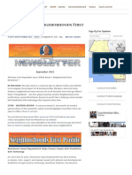 09.01.15 September 2015 Neighborhoods First Newsletter - Mike Bonin - Council District 11