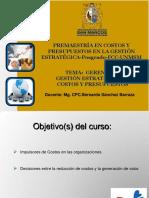 Adicional Gerencia Estrategica de Costos - Prof.bernardo Sanchez Barraza