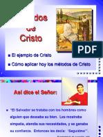 El método de Cristo para evangelizar.ppt