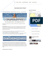 12.31.16 2016 Year End Neighborhoods First Newsletter - Mike Bonin - Council District 11