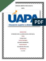 Trabajo Final Introduccion a La Educacion a Distancia