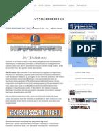 09.30.17 Your September 2017 Neighborhoods First Newsletter - Mike Bonin - Council District 11