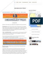 10.01.15 October 2015 Neighborhoods First Newsletter - Mike Bonin - Council District 11