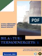 Bilant Termoenergetic