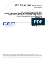 3GPP Document for Channels