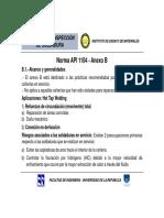 API 1104 Anexo B