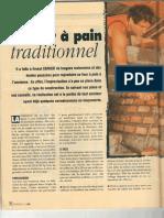 Construire Four a Pain Briques