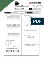 3 Examen Mensual 1 Sec Rm Aritm Breña
