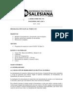 CNC-Programación manual en control FANUC Oi Mate Tc.