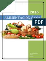 Informe Alimentacion Sana Tracy Sepulveda