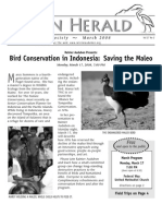 March 2008 Heron Herald Newsletter Rainier Audubon Society
