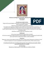 Novena Virgen de Coromoto, Dia Tercero