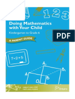 Doing Mathematics With Your Child, Kindergarten to Grade 6, A Parent Guide--1