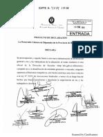 Declaración Repudio Vidal Desafiliaciones Docentes