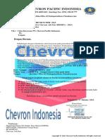 Surat Resmi Pt Chevron Pacific Indonesia.