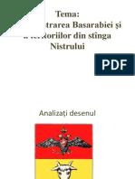 Administrarea Basarabiei Și a Teritoriilor Din Stînga Nistrului
