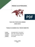 Trabajo Academico Psicobiologia y Etologia