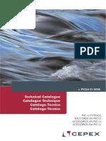 Catalogo Tecnico Accesorios Pvc Cepex
