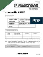 STANDARD VALUE مضخات بكلينات كوماتسو .pdf