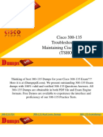 Download Cisco 300-135 Dumps - 300-135 Dumps Questions