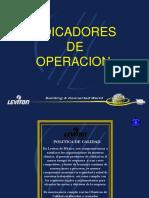 Indicadores de Operacion