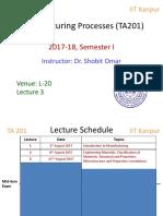 TA201 Lecture 3