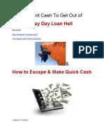Instant Cash Programs