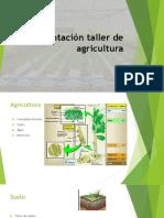 Presentación Taller de Agricultura