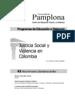 Justicia Social y Violencia en Colombia