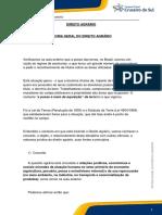 Teoria Geral do Direito Agrário - Campus virtual.pdf