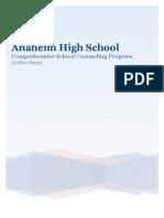 comprehensive school counseling program portfolio