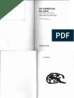Wassily Kandinsky Do Espiritual Na Arte e Na Pintura Em Particular