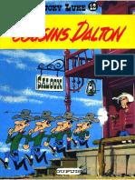 Lucky Luke - 12 - Les Cousins Daltons