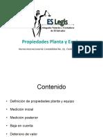 El Salvador Legis - Propiedad Planta y Equipo