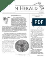 June 2009 Heron Herald Newsletter Rainier Audubon Society