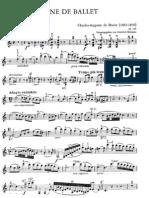 Beriot Scene de Ballet Op 100 - Violin
