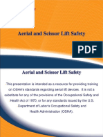 Aerial and Scissors Lift Training Program