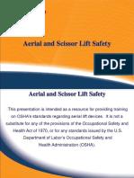 Aerial and Scissors Lift Training Program