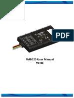 FMB920 User Manual v0.08