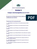 EC-1311 Cuestionario - Maxwell Diferencial