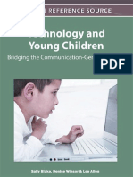 Sally Blake, Denise Winsor, Lee Allen-Technology and Young Children_ Bridging the Communication-Generation Gap -Information Science Pub (2011)
