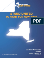 FY2019 New York State Budget Proposal Briefing Book