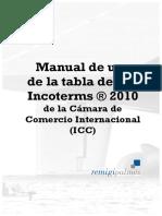 Tabla y Manual Incoterms 2010