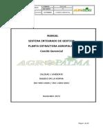 Manual Integrado de Gestion Planta Extractora Agropalma