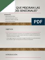 Aditivos Que Mejoran Las Propiedades Sensoriales. OLOR