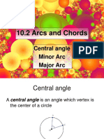 10.2 Arcs and Chords