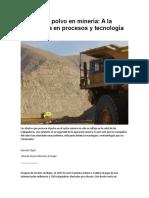 Control de Polvo en Minería 2017