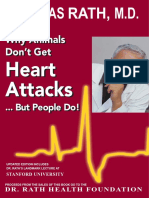 Why Animals Don't Get Heart Attacks – But People Do!