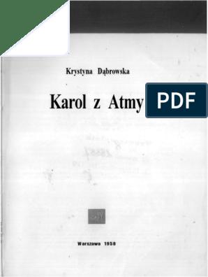 Krystyna Dąbrowska Karol Z Atmypdf