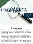 Transparencia Opinion Publica